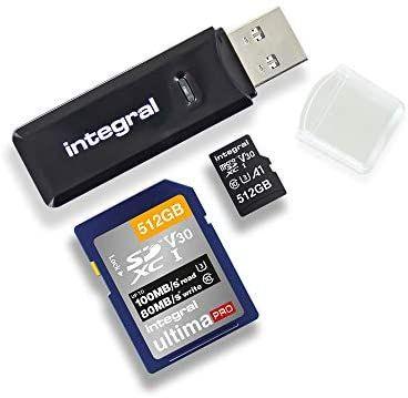 Integral SD and Micro SD Card Reader, USB 3.1 USB 3.0 - £3.78 (+ £4.49 Non Prime) @ Amazon