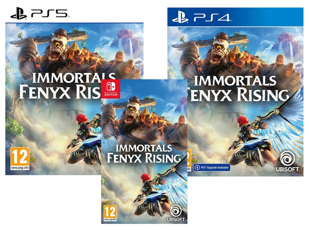 Immortals Fenyx Rising (PS5/PS4) - £19.16 Prime/+£2.99 Non Prime / Nintendo Switch £20.33 @ Amazon