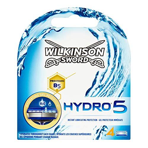 Wilkinson Sword Hydro 5 Men's Razor Blade Refills x 4 - £2.54 (+£4.49 nonPrime) at Amazon
