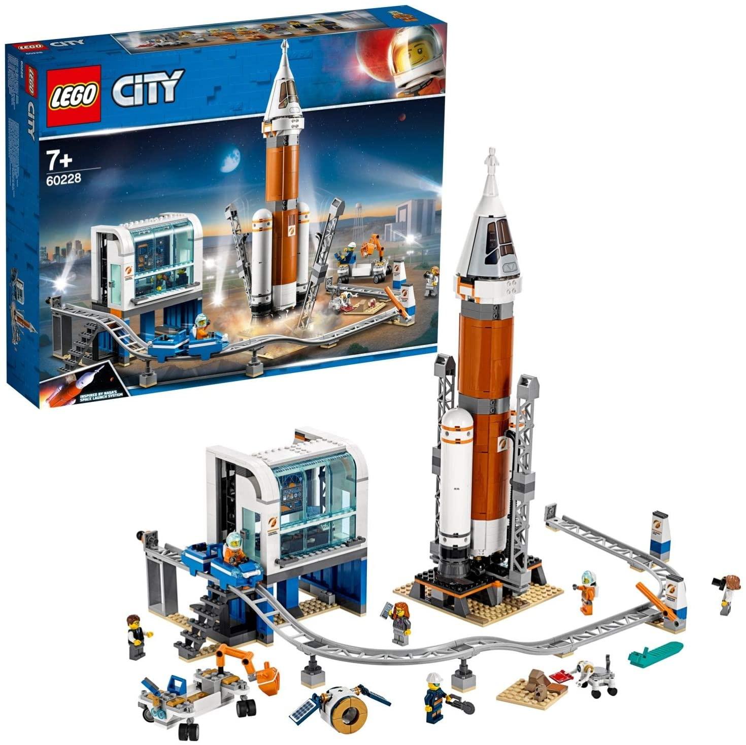 LEGO 60228 City Deep Space Rocket and Launch Control Building Set - £44.72 @ Amazon