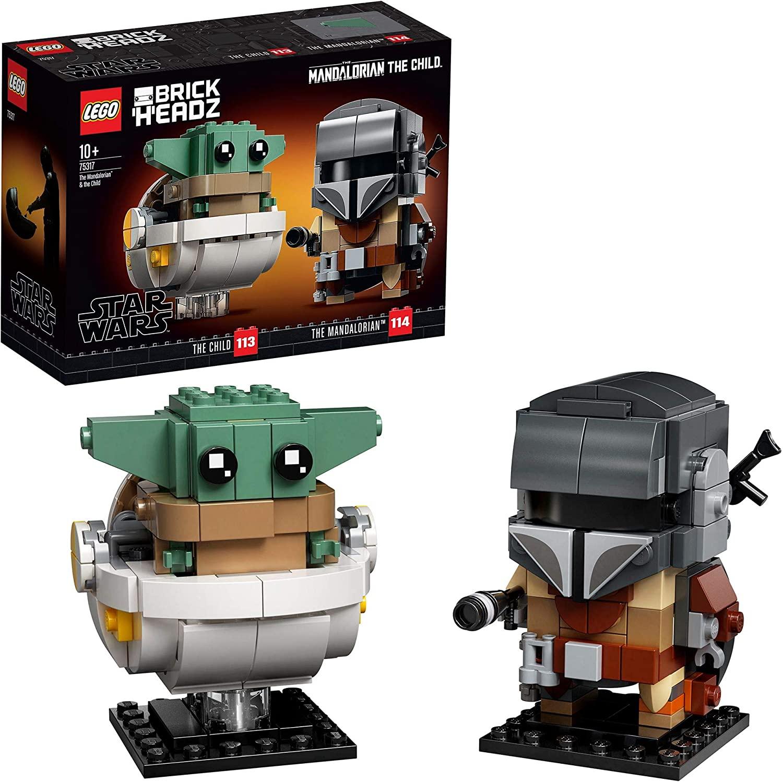 Lego Star Wars 75317 mandalorian brickheads £10.17 (+£4.49 nonPrime) at Amazon