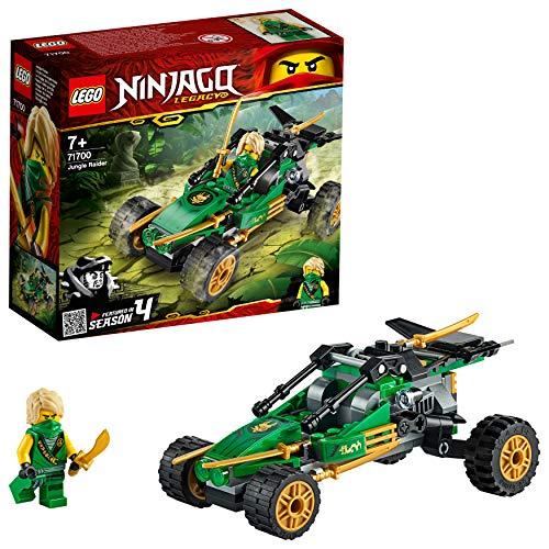 Ninjago LEGO 71700 Legacy Jungle Raider Car with Lloyd Minifigure, Tournament of Elements Building Set £4.54 (+£4.49 Non Prime) @ Amazon