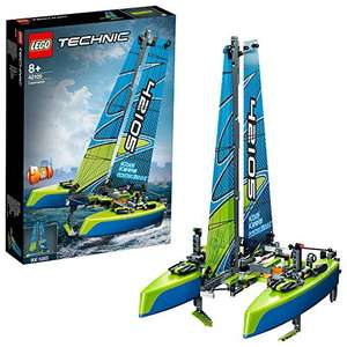 LEGO 42105 Technic Catamaran to Race Power Boat 2in1 Floating Model At Amazon