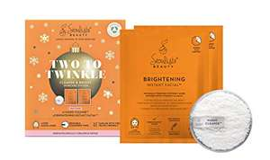 Seoulista Beauty Two To Twinkle Cleanse and Bright Skincare System Vitamin C Mask Gift Set £7.40 (+£4.49 Non-Prime) @ Amazon