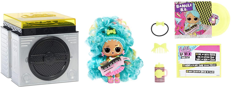 LOL Surprise Remix Hair Flip Dolls – Collectable - 15 Surprises £4.35 (+£4.49 nonPrime) at Amazon