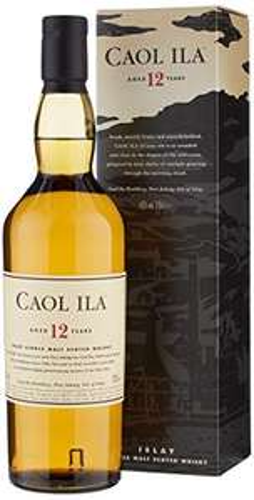 Caol Ila 12 Years Old Single Malt Scotch Whisky, 70cl