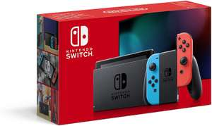 Nintendo Switch (Neon Red / Neon Blue), Extended Battery Life Console - £266.28 @ Amazon