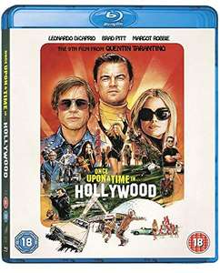 Once Upon a Time In... Hollywood [Blu-ray] £3.98 (Prime) + £2.99 (non Prime) at Amazon