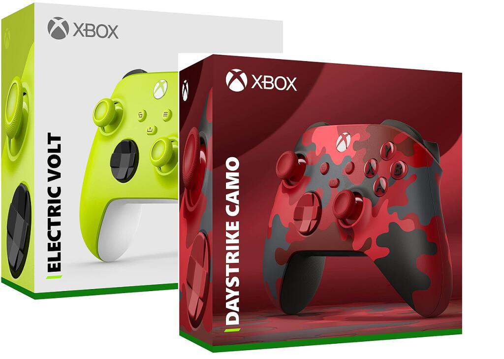 Xbox Wireless Controller – Electric Volt - £46.64 / Daystrike Camo SE - £51.61 delivered @ Amazon