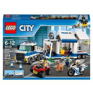 LEGO City 60139 Police Mobile Command Center Building Set £20.05 @ Amazon (Reduced from £39.99)