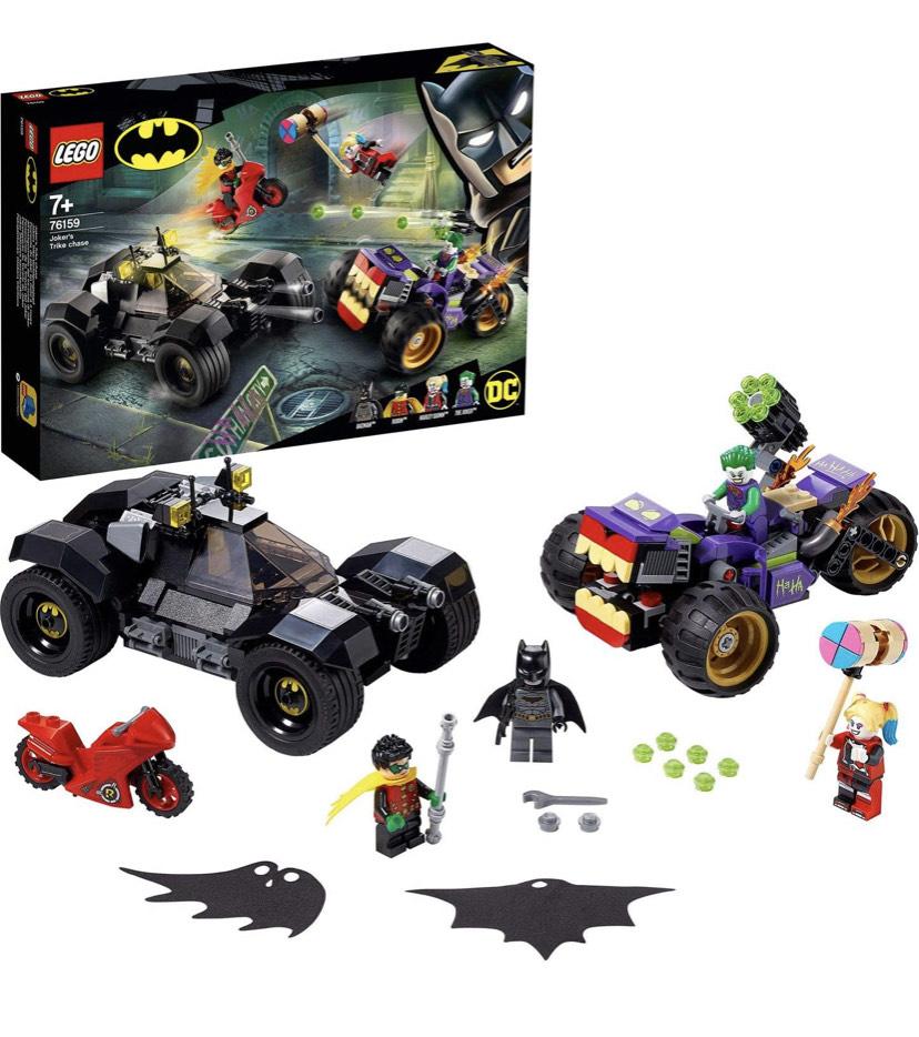 Lego DC Batman Joker Trike Chase £23.67 @ Amazon