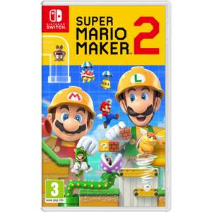 Super Mario Maker 2 Nintendo Switch £33.95 @ The Game Collection - Free P&P