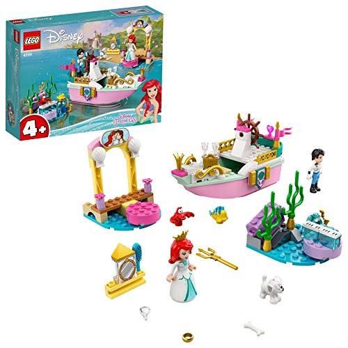 LEGO Disney Princess 43191 Ariel's Celebration Boat Toy,The Little Mermaid Set £14.76 Prime /+£4.49 non Prime at Amazon
