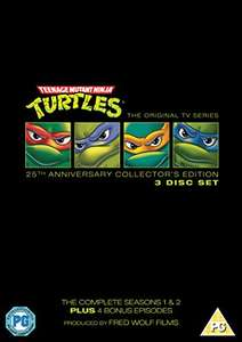 Teenage Mutant Ninja Turtles - Complete Seasons 1-2 (25th Anniversary Special Edition) DVD - £4.14 Prime / +99p Non Prime at Amazon