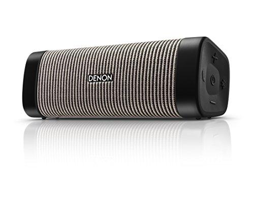 Denon DSB-150BT Envaya Mini Portable Premium Bluetooth Speaker - Black/Grey Stripe £72.17 @ Amazon
