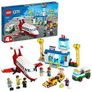 LEGO City 60261 4+ Central Airport Playset with Toy Plane, Fuel Truck & Pilot Figure £23.80 @ Amazon