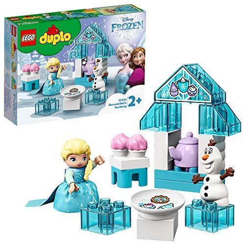 LEGO DUPLO 10920 Princess Frozen Elsa & Olaf's Ice Party Toy,Large Bricks Set with Cupcakes & Teapot £8.75 Prime / £4.49 non Prime at Amazon