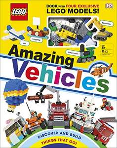 LEGO Amazing Vehicles Hardcover Book Includes Four Exclusive LEGO Mini Models £2.54 (+£2.99 nonPrime) at Amazon