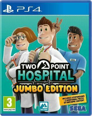Two point Hospital jumbo edition PS4 £19.85 (UK Mainland) @ boss_deals eBay