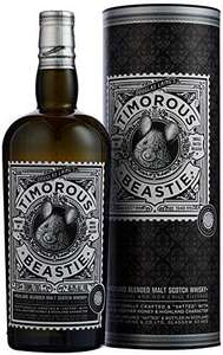 Douglas Laing's Timorous Beastie 46.8% vatted Highland malt, Glen Garioch, Dalmore and Glengoyne. £21.33 at Amazon