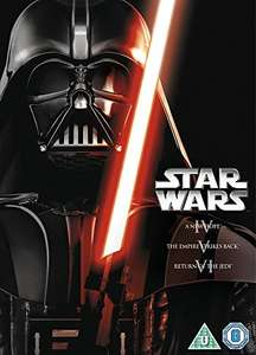 Star Wars: The Original Trilogy (Episodes IV-VI) [DVD] [1977] £3.30 (Prime) + £2.99 (non Prime) at Amazon
