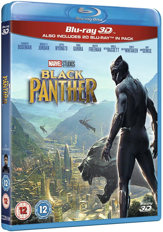 Black Panther [3D Blu-Ray] [2018] [Region Free] £5.13 / Captain America civil war 3D £4.90 - (+£2.99 p&p non prime) @ Amazon