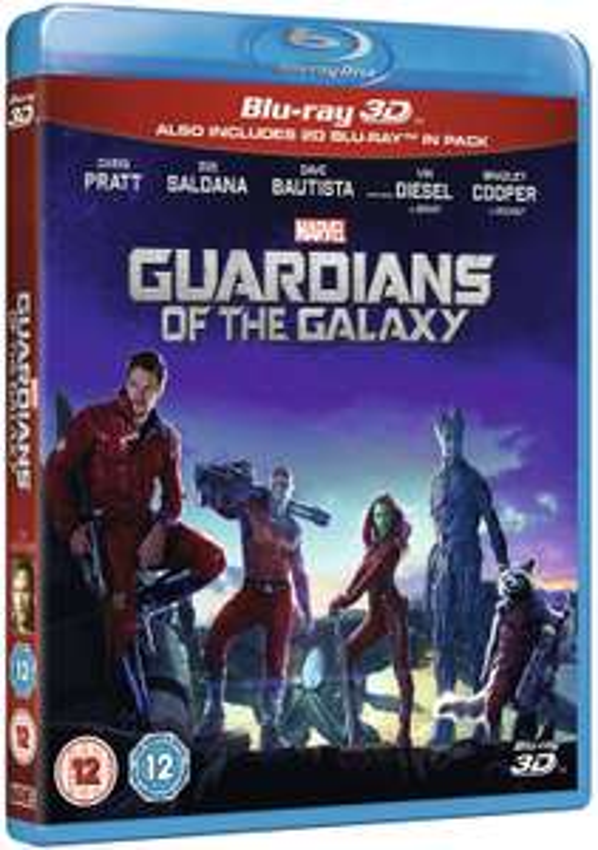 Guardians Of The Galaxy [Blu-ray 3D + Blu-ray] [Region Free] £5.05 (£2.99 p&p non prime) @ Amazon
