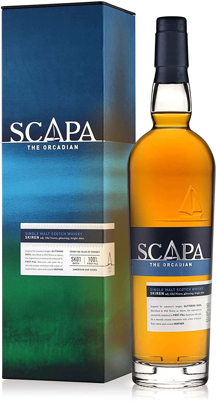 Scapa Skiren Single Malt Scotch Whisky, 70 cl - £26.87 @ Amazon