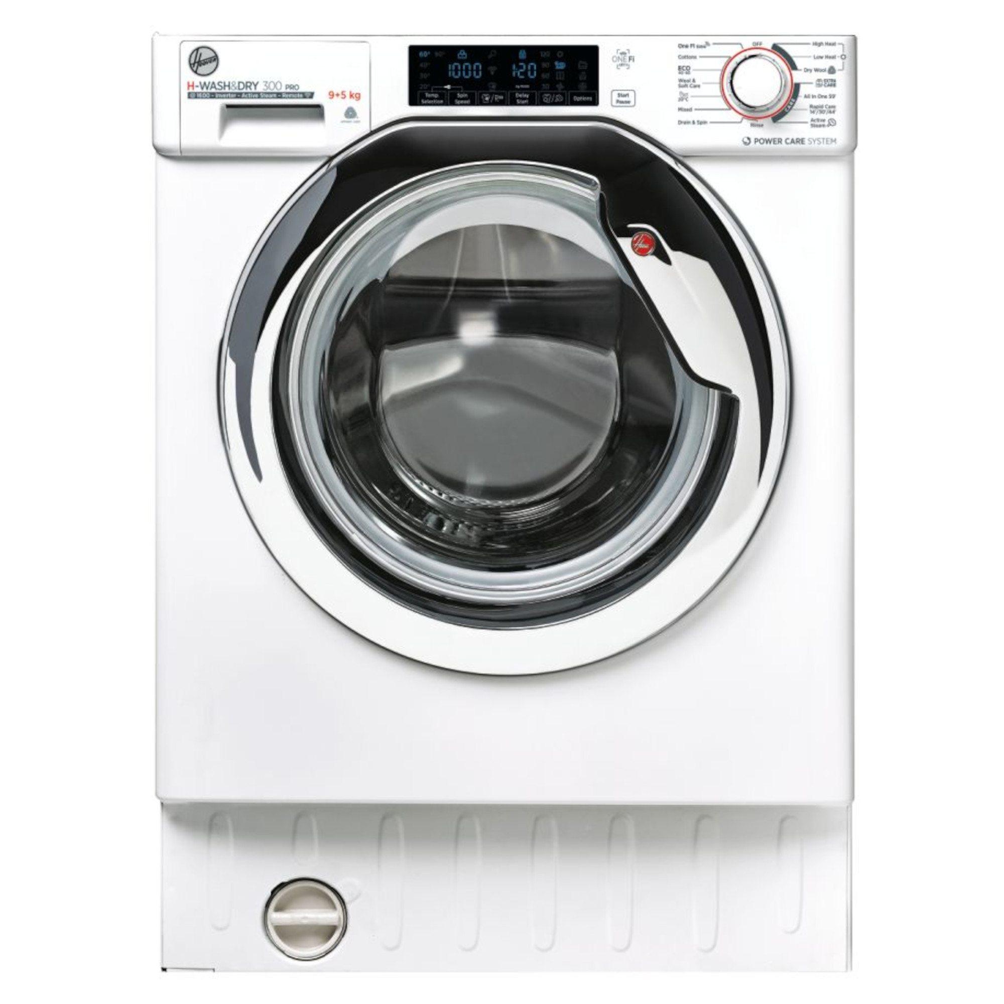 Hoover HBDOS695TAMCET 9kg Wash 5kg Dry Load Integrated Washer Dryer - £422 with Voucher @ Hughes