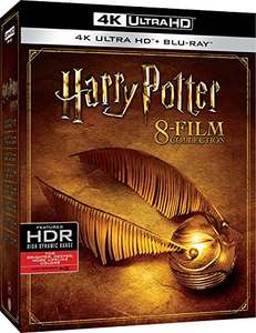Harry Potter: The Complete 8-film Collection 4K Ultra HD + Blu-ray £57.36 delivered @ Amazon Italy