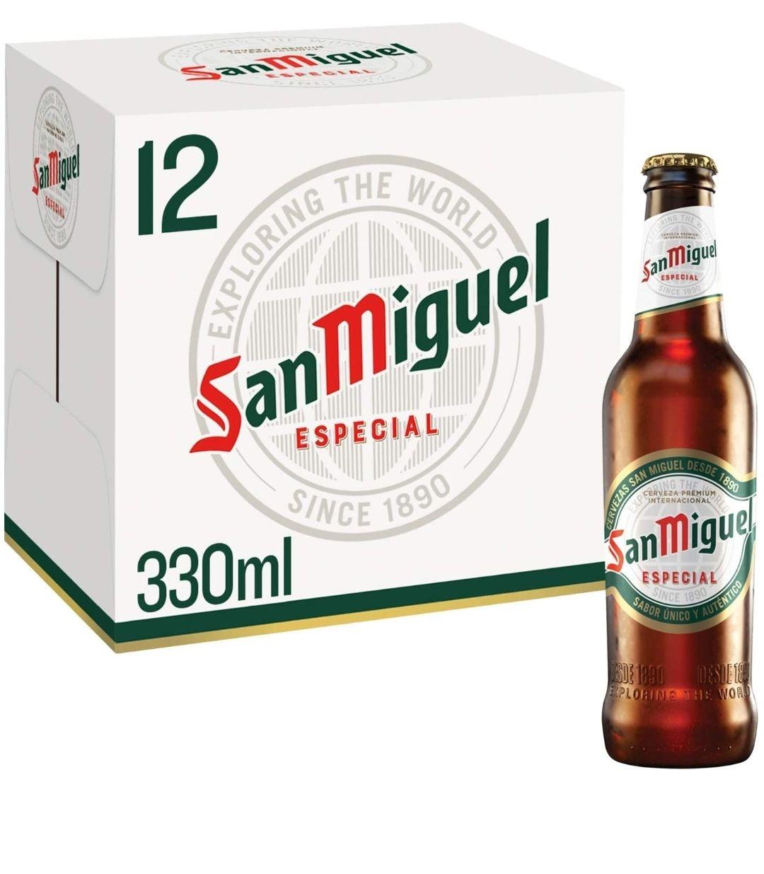 San Miguel Premium Lager, 12 x 330ml - £7.97 (+£4.49 nonPrime) at Amazon