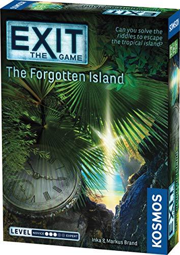 EXIT The Game - The Forgotten Island Escape Room Board Game - £3.16 (+£4.49 Non Prime) @ Amazon