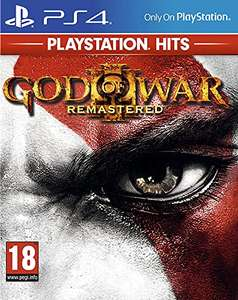 God of War 3 Remastered [PS4 - French sleeve - Game plays in English] £6.08 (+ £2.99 non-Prime) @ Amazon