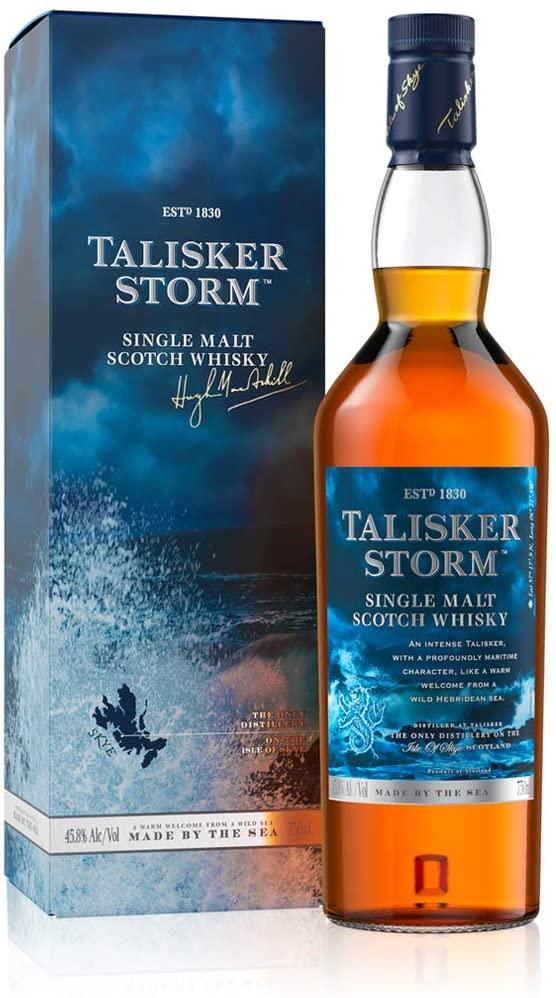 Talisker Storm Single Malt Scotch Whisky, 70 cl - £24.36 @ amazon