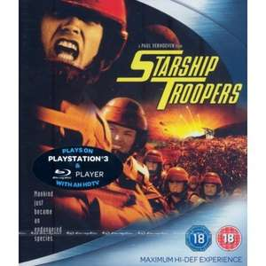 Starship Troopers Blu-ray £1.83 (+£2.99 nonPrime) at Amazon