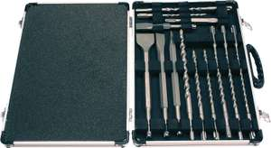 Makita D-21200 SDS Plus Drill and Chisel Set, 17pc £12.83 (+£4.49 NP) @ Amazon