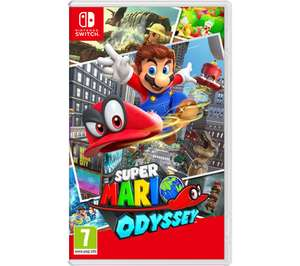 NINTENDO SWITCH - Super Mario Odyssey / Luigi's Mansion 3 /Bravely Default II - £33.99 each delivered Using Code @ Currys