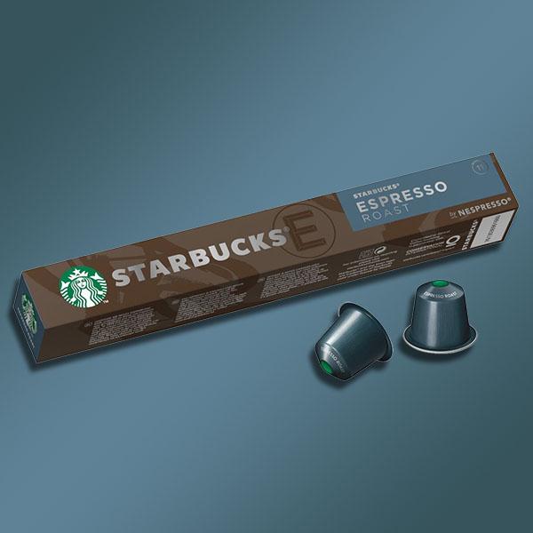 120 X STARBUCKS ESPRESSO ROAST COFFEE NESPRESSO PODS - £16 delivered (Best Before 29/08/2021) @ Yankee Bundles