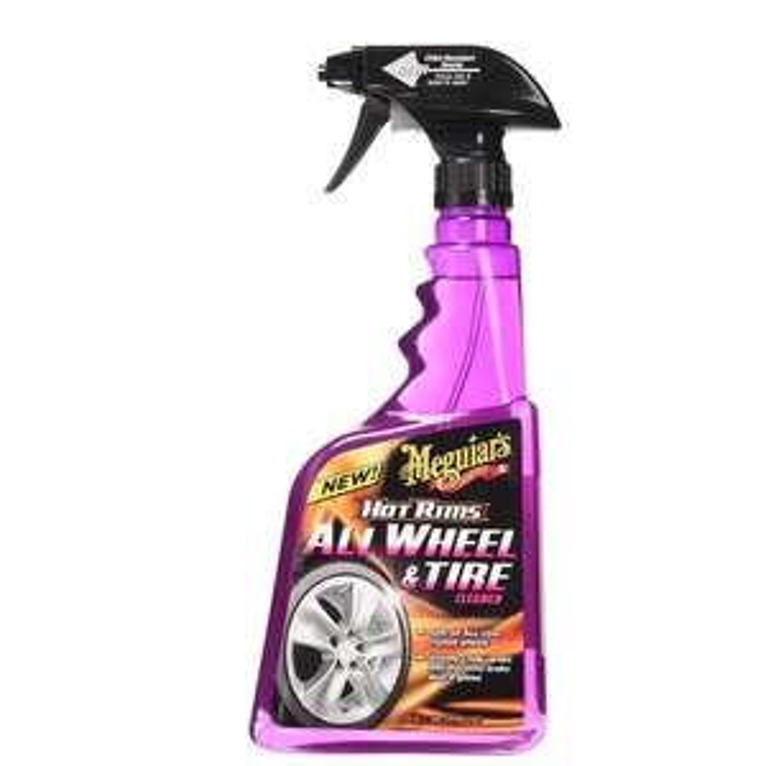 Meguiar's ME G9524 Hot Rims All Wheel and Tire Cleaner 710ml - £3.81 Prime / £8.30 Non Prime @ Amazon@ Amazon