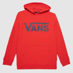 boys classic hoodie in red sizes 3-7 £13.99 and 8-14+ £19.99 @ Schuh Free click & collect