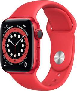 Apple Watch Series 6 GOS + Cellular 40mm Red - £416.70 @ Amazon