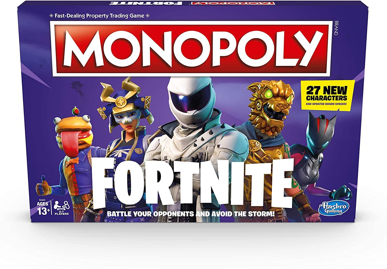 Hasbro Gaming Monopoly: Fortnite Edition Board Game £10.41 (+£4.49 nonPrime) at Amazon