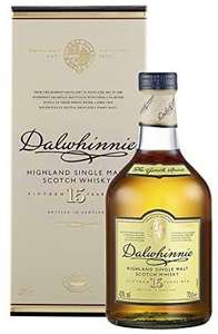 Dalwhinnie 15 Years Old Single Malt Scotch Whisky 70cl with Gift Box £25.88 Amazon