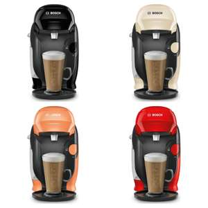 TASSIMO by Bosch Style Coffee Machine (Black, Cream, Red, Orange) - £29.99 delivered @ Currys PC World