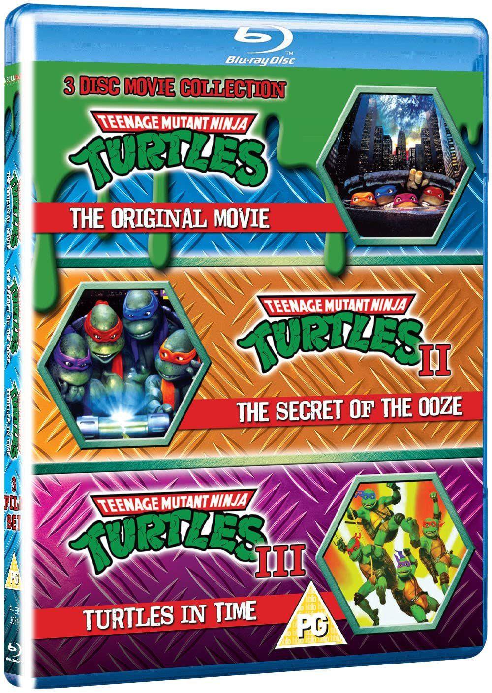 TMNT - 3 Disc Set (Teenage Mutant Ninja Turtles/Secret Of The Ooze/Turtles In Time) (Blu-ray) £9.15 + £2.99 NP @ Amazon