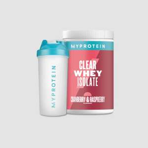 55% off Everything - Peanut buttter £3.37 / Clear Whey Iso Starter Pack £10.80 using code (£3.99 delivery) @ Myprotein - More in Description