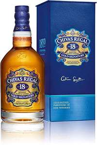 Chivas Regal 18 Years Gold Signature Blended Scotch Whisky, 70 cl - £37.11 at Amazon