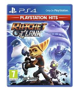 Ratchet and Clank (PS4) - PlayStation Hits £3.15 (+£2.99 nonPrime) at Amazon