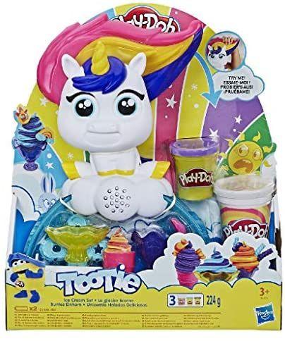 Playdoh tootie the unicorn ice cream set £6.86 (+£4 49 non-prime) @ Amazon