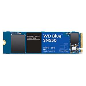 1TB - WD Blue SN550 High-Performance M.2 Pcie NVMe SSD Up to 2400MB/s Read, 1950MB/s Write - £78.30 Delivered @ Amazon